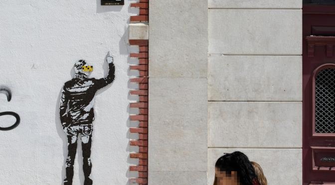 El artista portugués Edis ONE en Pradejón