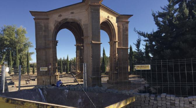 Restauración del templete del Humilladero