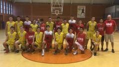 ABQ Calahorra cadete vs. CB Oncineda Jr..