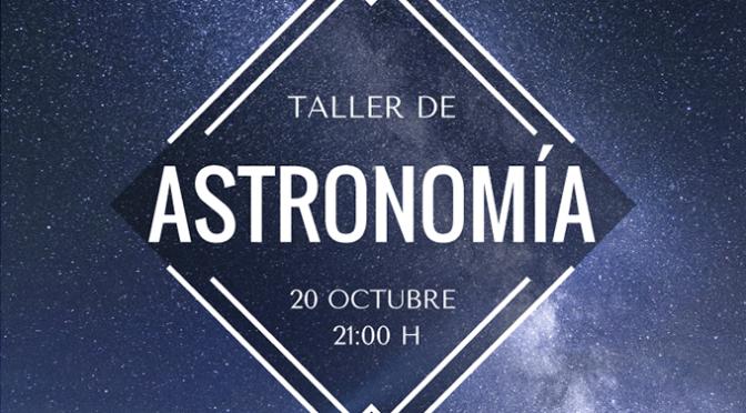 Segundo taller de astronomía