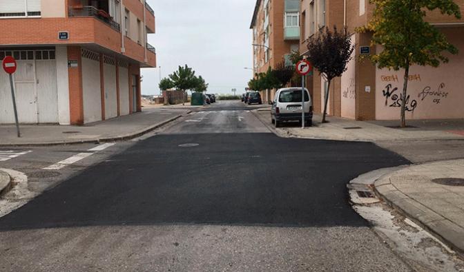 Bacheo de 40 calles, 5 caminos periurbanos y reparación de acometidas