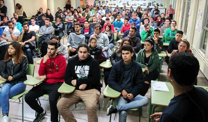 Concienciación de la importancia de la donación a los alumnos riojanos