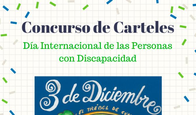 Concurso de Carteles del Día Internacional de las Personas con Discapacidad Intelectual