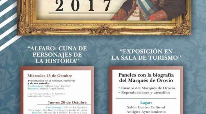 Ciclo de Encuentros con la Historia de Alfaro