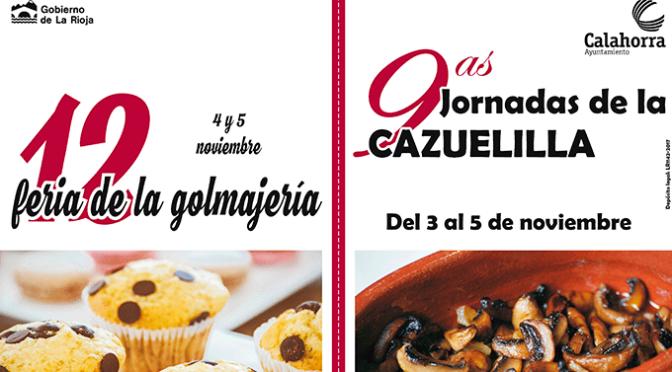 Doble cita gastronómica en Calahorra los días 4 y 5 de noviembre