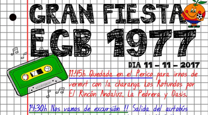 Gran Fiesta EGB en Calahorra