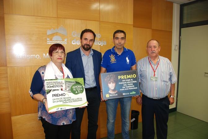 José García de Pradejón ganador de la campaña 'Ahora te toca a ti'