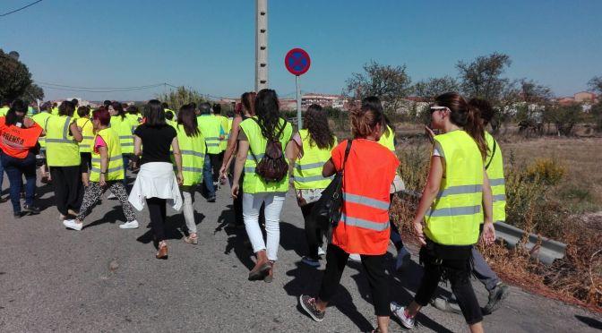 GALERÍA: Concentración protesta en Rincón de Soto