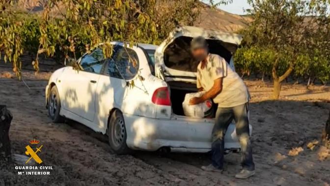 Operación Largueta, traficando con almendras