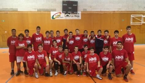 2017-11-25 ABQ cadete vs. Logrobasket