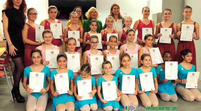 Entrega de las distinciones de la Royal Academy Of Dance