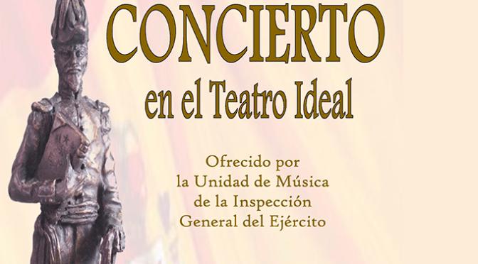 Invitaciones ya disponibles para el concierto de la Unidad de Música de la Inspección General del Ejército