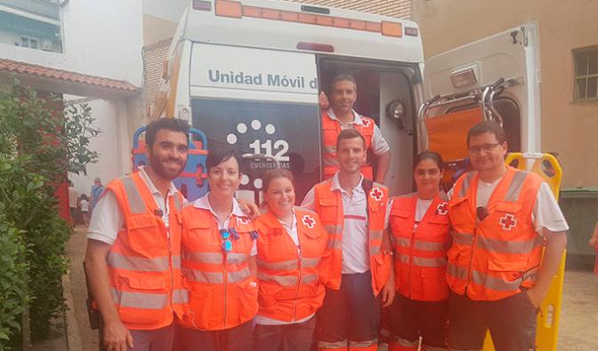 Cruz Roja Calahorra renueva el puesto del Polígono Tejerías
