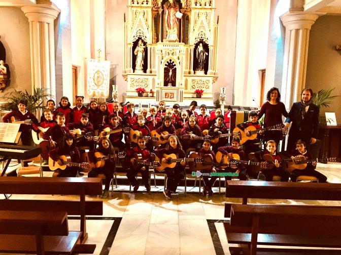 Agustinos celebra el día de Santa Cecilia con todos los alumnos del centro