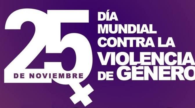 Actividades con motivo Dia de eliminación de la violencia de genero
