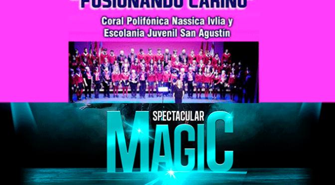 Magia y música este fin de semana en el Ideal