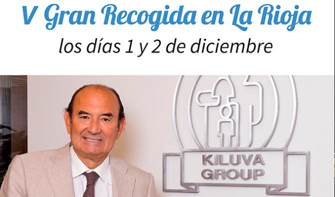 El Banco de Alimentos de La Rioja celebra la V Gran Recogida los días 1 y 2 de diciembre
