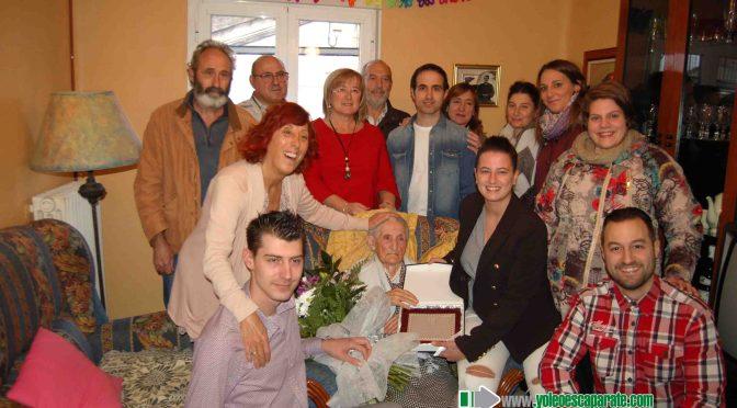 La adrianesa Pilar Ursua Muro ya es centenaria