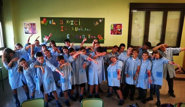 Talleres de Halloween en el Colegio La Milagrosa de Calahorra