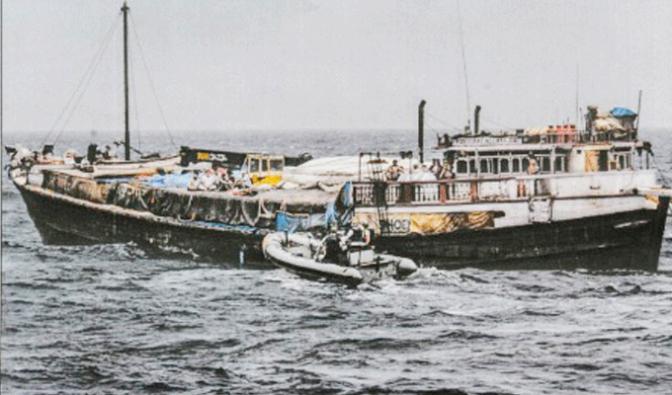 """Exposición fotográfica """"Misión: Atalanta. La lucha contra la piratería en el Índico"""""""