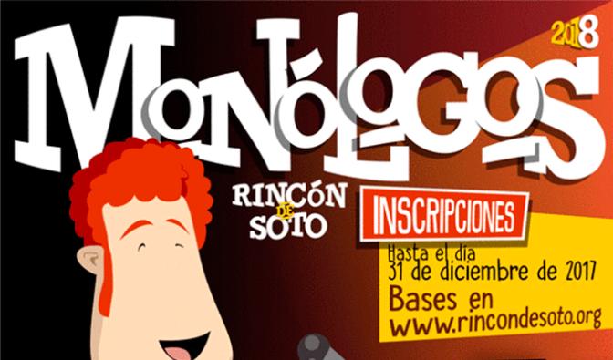 Monólogos 2018 en Rincón de Soto
