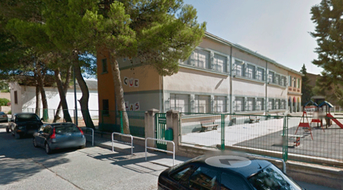 Confinados  22 alumnos del centro Alfonso X el Sabio de San Adrián