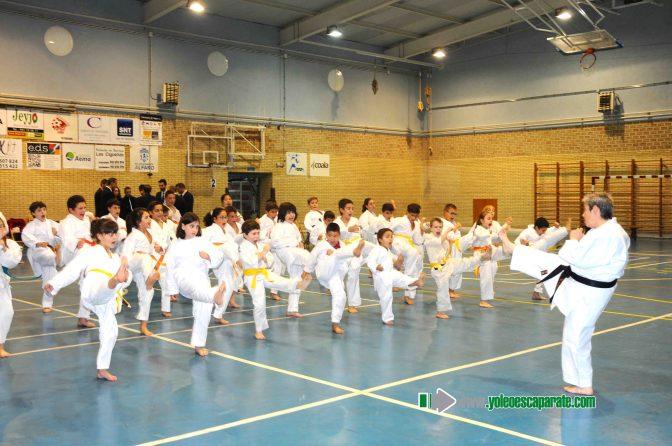 Campeonato infantil de karate en Alfaro