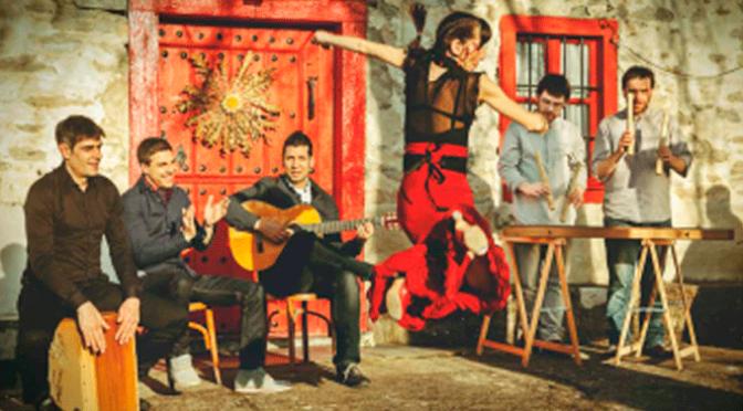 Flamenco +  txalaparta, este domingo en San Adrián, además de arco, futol, baloncesto…