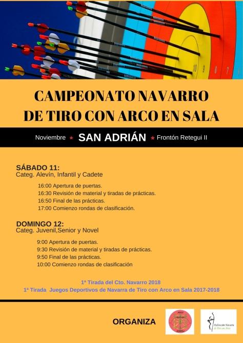 TIRO CON ARCO, CAMPEONATO NAVARRO