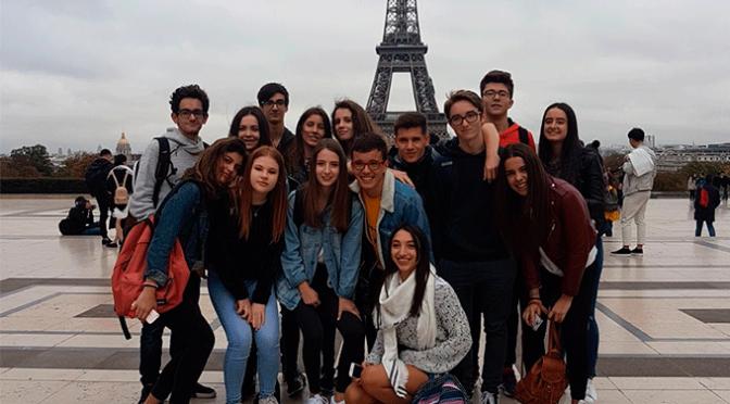 Viaje a Paris de los alumnos del Quintiliano