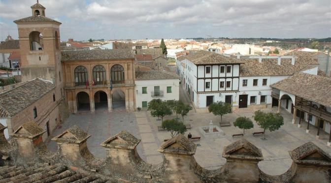 El Ayuntamiento de Villanueva de la Jara -Cuenca-, visita el municipio de Pradejón