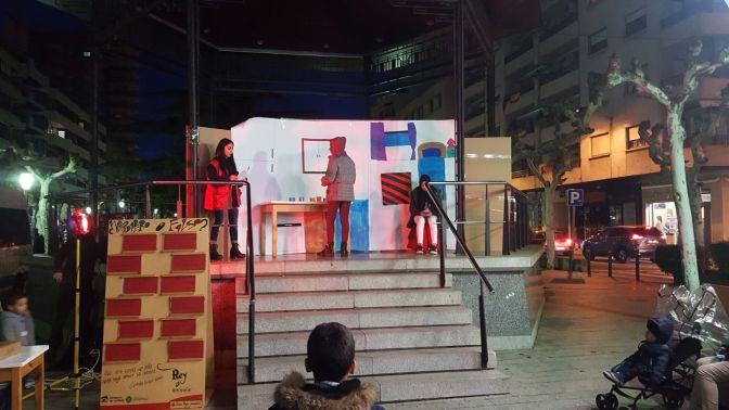 Teatro de Cruz Roja Calahorra en contra de la violencia de genero
