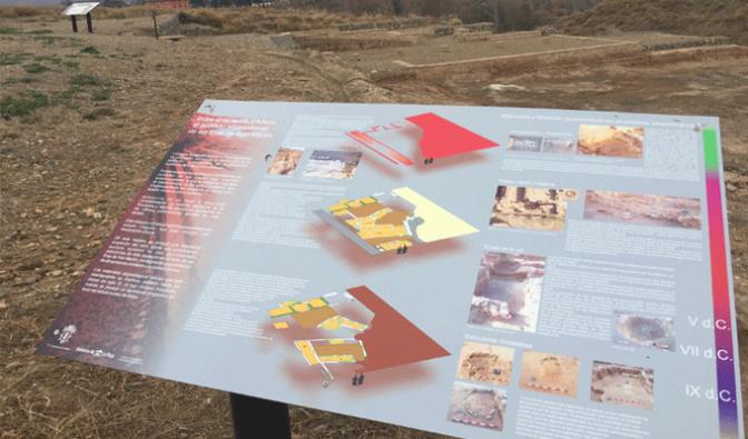 Trabajos de arqueología en la ciudad de Alfaro