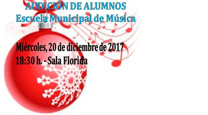 Audición de alumnos de la Escuela Municipal de Música