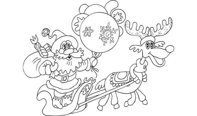 Concurso de dibujos navideños