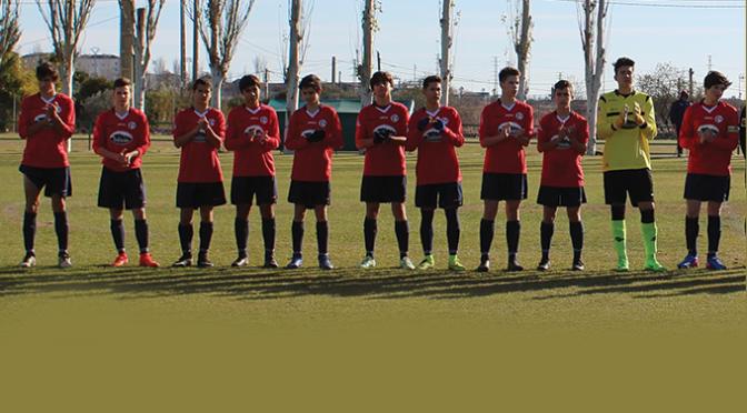 El equipo de la C.F.B. Juventud Calahorra goleó a la SD Logroñés