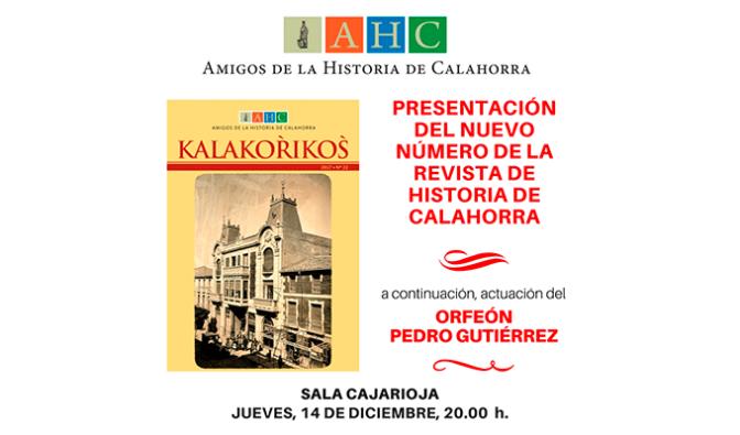 Hoy Presentación del número 22 de la revista Kalakorikos