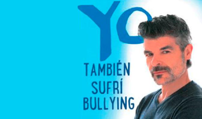 """Nacho Guerreros hablará de """"Yo también sufrí bullying"""""""