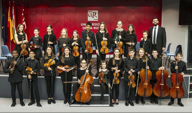 Concierto de la Orquesta Promesas de La Rioja en Alfaro