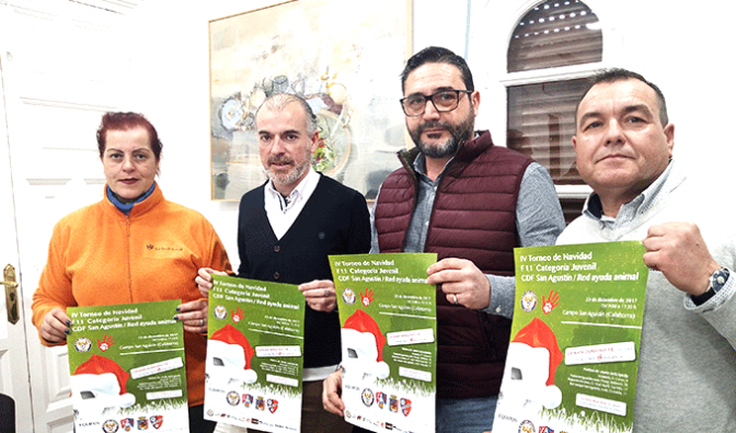 """El 23 de diciembre se desarrollará el IV Torneo de Navidad """"CDF San Agustín"""""""