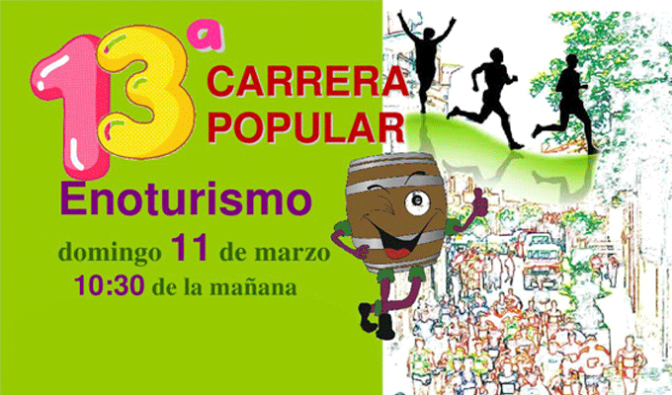 13ª Carrera Popular Enoturismo