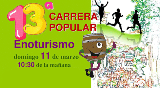 13ª Carrera Popular Enoturismo