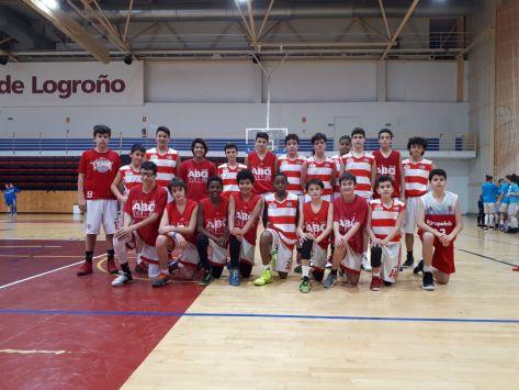 2018-01-20 Logrobasket vs. ABQ infantil