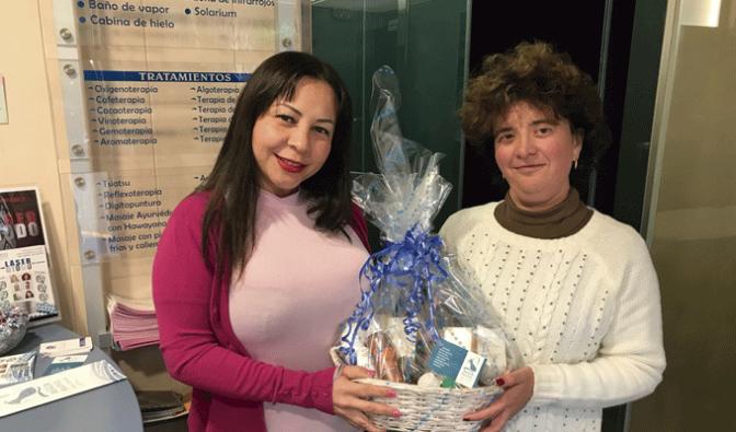 AguaManil SPA entrega su cesta de Navidad