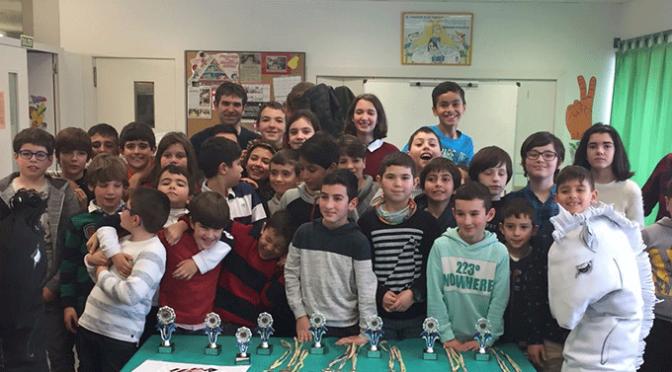 Tres oros para los ajedrecistas de Agustinos en el campeonato de Autol
