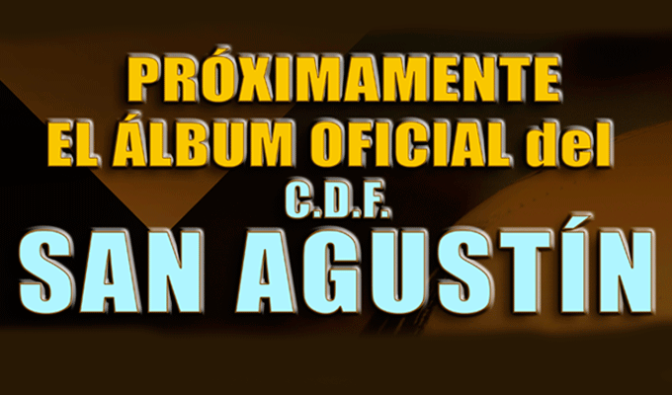 El Club CDF San Agustín ya tiene su álbum de cromos