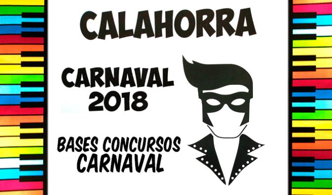 Bases de los concursos de Carnaval 2018