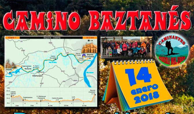 Este domingo comienza el Camino baztanés