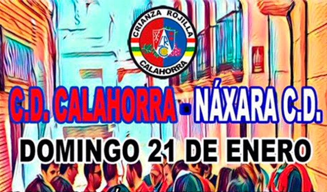Jornada de convivencia entre aficiones entre CD Calahorra – Náxara CD
