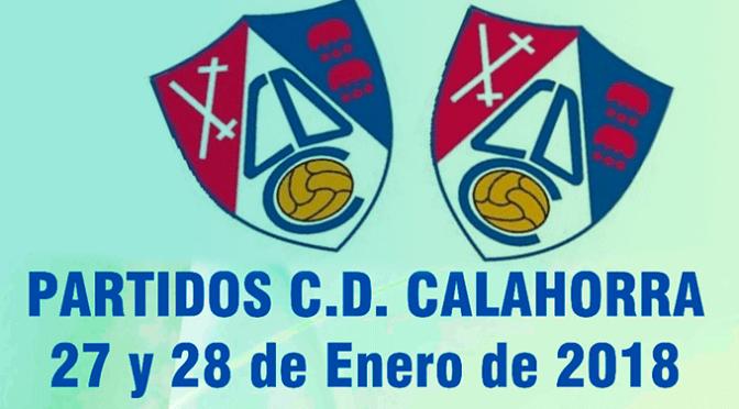 Partidos del CD Calahorra para este fin de semana
